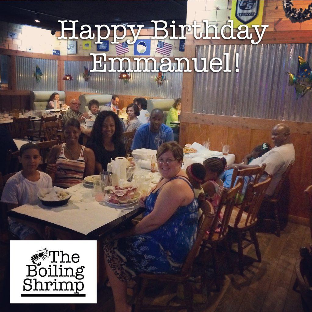 Aug 16 Emmanuel