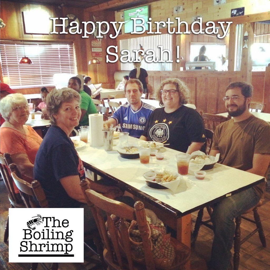 Aug 9 Sarah